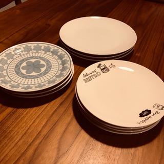 【ネット決済・配送可】【おしゃれ】お皿10枚セット