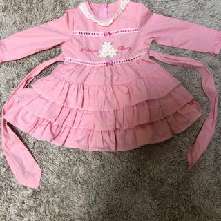 女の子 服 100 染みあり Princess Cherry