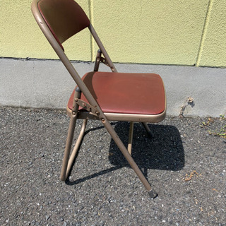 折りたたみパイプ椅子、3個セット