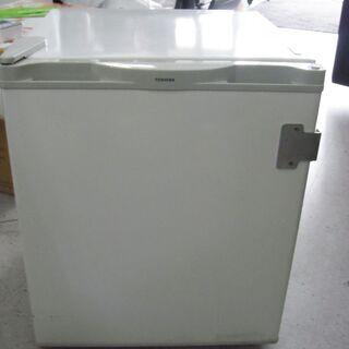 【恵庭】①TOSHIBA/東芝 1ドア冷蔵庫 2000年製 40...