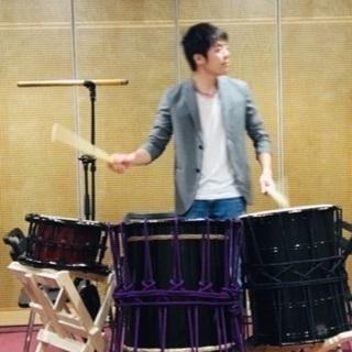 一緒に和太鼓、篠笛の合奏しませんか?