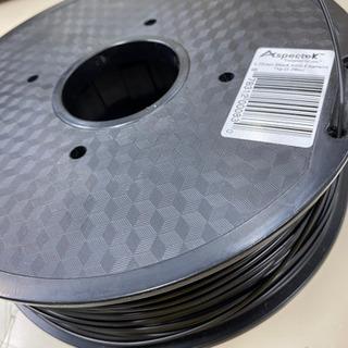 Aspectek ABSフィラメント(ABS樹脂)黒1kg1巻