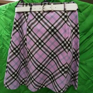 女児  スカート150  未使用