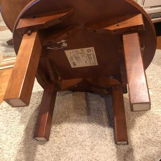 折り畳みローテーブル - 目黒区