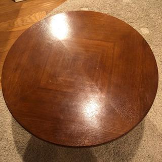 折り畳みローテーブルの画像