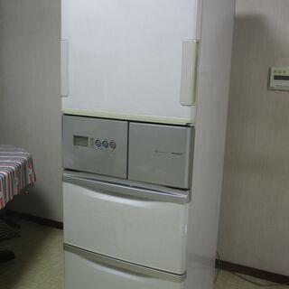 SHARP 両開き冷蔵庫365L 2006年製 0円