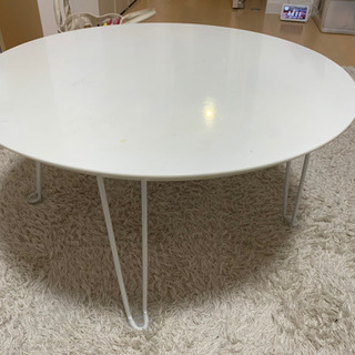 ニトリ★白テーブル