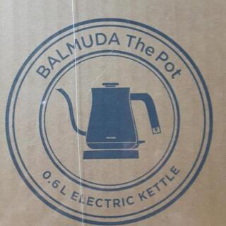 BALMUDA バルミューダThe Pot black 新品未開封