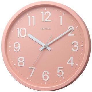 【新品】【5色から選択】リズム時計 掛け時計 フラットフェイスD...