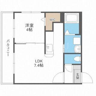 《北24条駅3分・新築☆》都市ガス1LDK☆充実の設備に文句なし...