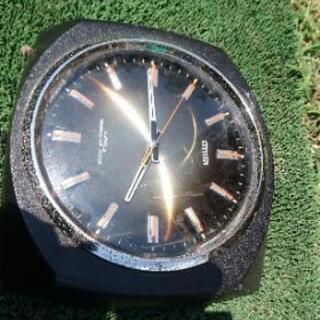 置物 文鎮 飾り 不動 時計 腕時計 レトロデザイン
