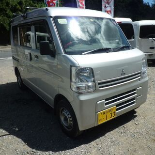 (ID2453)軽バン専門店在庫50台 三菱 ミニキャブバン新型...