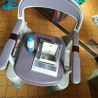 Panasonic ポータブルトイレ ラフィーネ(使用回数わずか)
