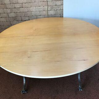 S104 ラウンドテーブル ミーティング 会議 折り畳み 直径1...