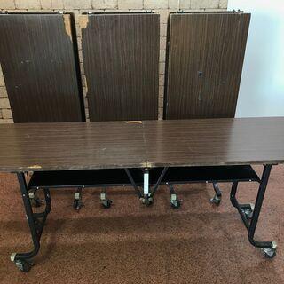 S106 ミーティングテーブル 会議テーブル 折り畳みテーブル ...