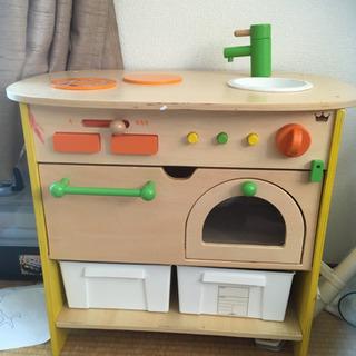エドインター 森のアイルランドキッチン 子供用キッチン