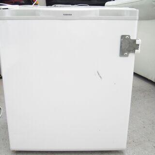 【恵庭】⑮TOSHIBA/東芝 1ドア冷蔵庫 2000年製 40...
