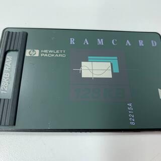 HP-48GX(グラフ関数電卓)用 128KB 増設RAMカード