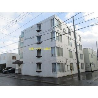 【北24条★1K】白を基調としたシンプルなお部屋☆ペット可・収納...