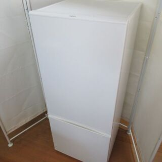 JAKN1537/冷蔵庫/2ドア/右開き/ホワイト/アクア/AQ...
