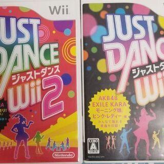 WII Just Dance 1+2 中古