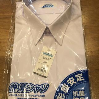 トンボ学生服 高機能定番スクールシャツ 快適清潔 半袖