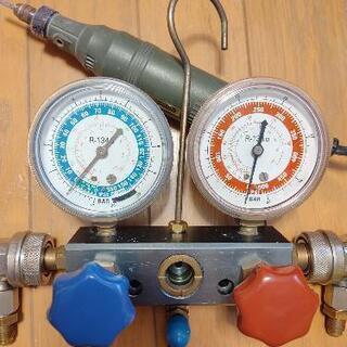 ルームエアコン  カーエアコン  冷媒補充 ガス補充 移設 新設...
