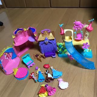 ディズニープリンセス 人形お城