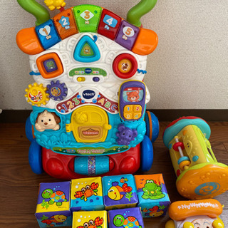 歩行器&ベビーおもちゃセット
