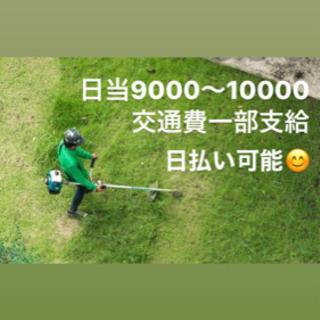 ☆草刈り業務☆一緒に働きましょう
