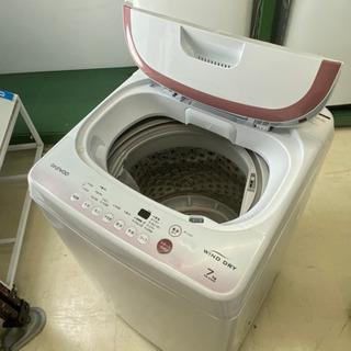 【洗濯機】DAEWOO 7kg 洗濯機 DW-S70CP