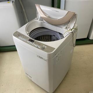 【洗濯機】SHARP 7kg 洗濯機 ES-KS70R