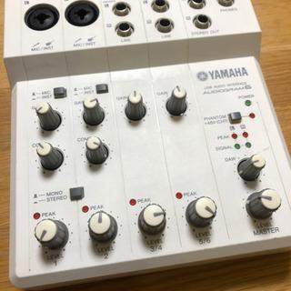 オーディオインターフェース YAMAHA AUDIOGRAM6