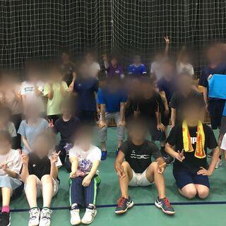 【まるで体育の授業】バレー(6人制、柔らかいボール)・バドミント...