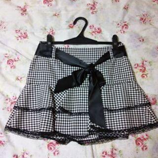 【セシル】リボン付きスカート