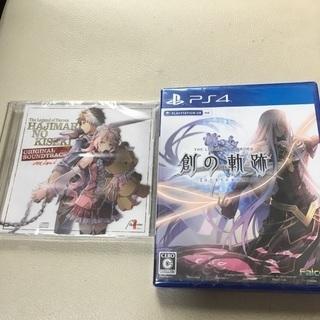 新品 ★ PS4 英雄伝説 創の軌跡 初回特典 オリジナルサウン...