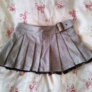 【セシル】インナー付きプリーツスカート