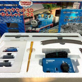 Nゲージ鉄道模型ベーシックセットSD機関車トーマス パワーユ...