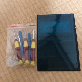 iPad 第5世代用 交換バッテリー 交換工具付き