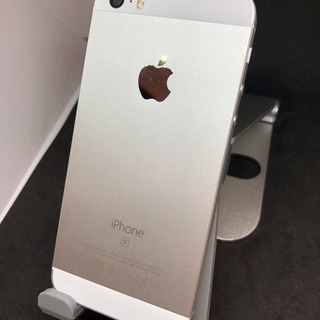 iPhone SE Silver 16 GB SIMフリー #166