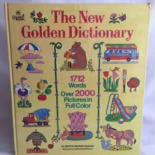 本23『洋書』THE NEW GOLDEN DICTIONARY...