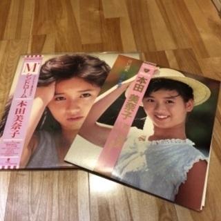 本田美奈子 帯付 レコード