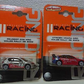 マジョレット 「シトロエン& プジョー」WRC ラリーカー2 台セット