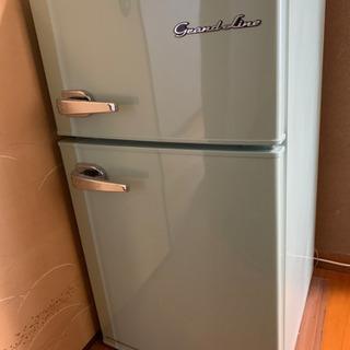 交渉中です!✨レトロ風2ドア冷蔵庫85L美品