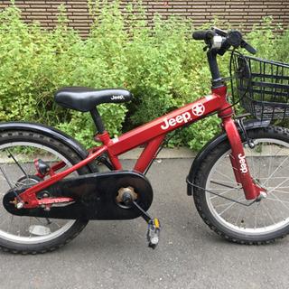 18インチのJeepの子供用自転車譲ります!