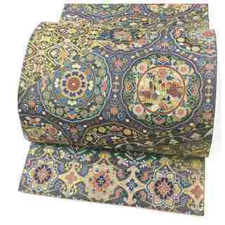 美品 極上 高級呉服 織り 華模様 正絹 袋帯 リサイクル品