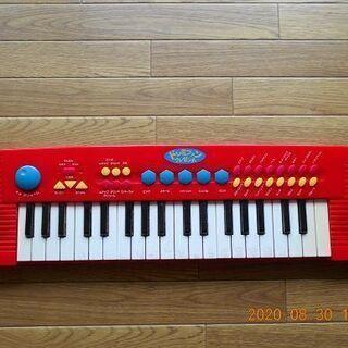 卓上ピアノ・電池式/高機能ボタン31個~中古品/キッズkids向け