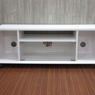 【ネット決済・配送可】stp-0120 テレビボード ホワイト ...