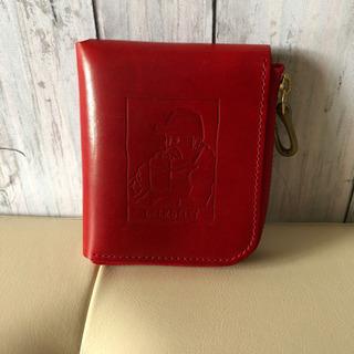 【美品】ビアベリー 二つ折り財布