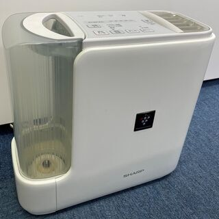 SHARP 加熱気化式加湿機 HV-D50-W ホワイト